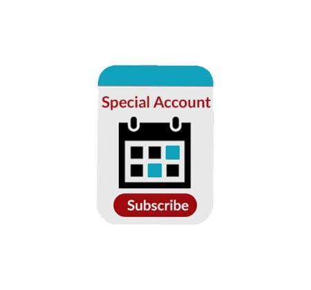 Subscriptions special account